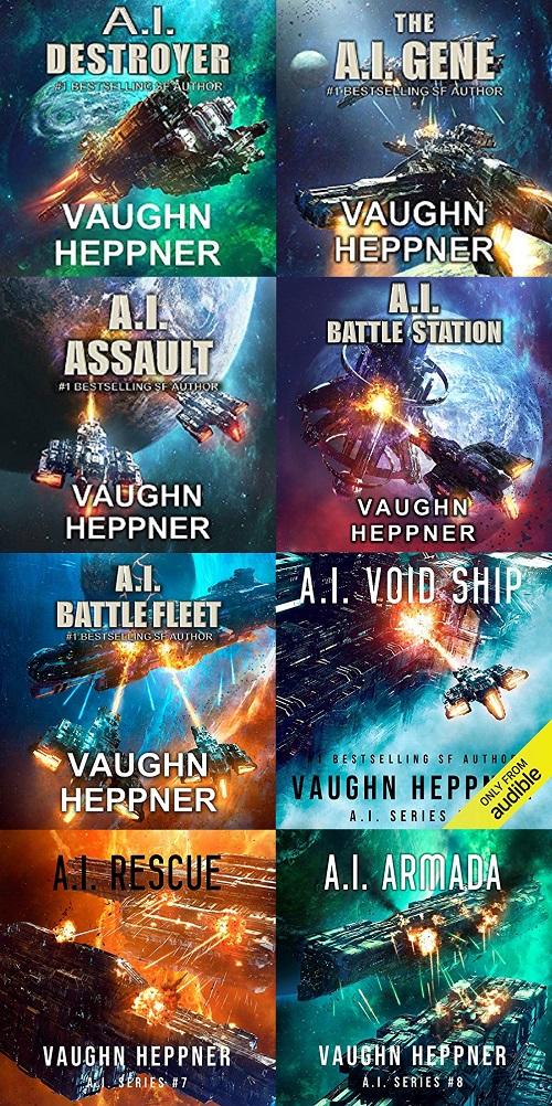 The A.I. Series Books 1-8 - Vaughn Heppner