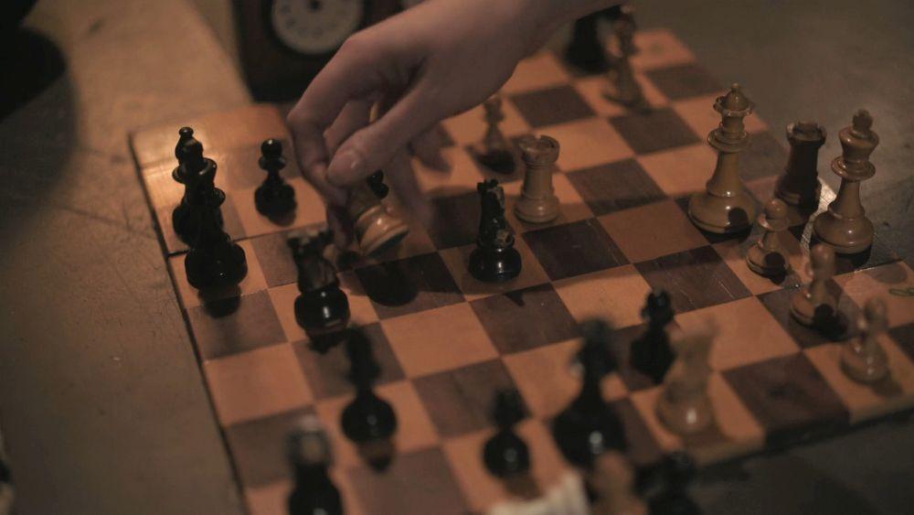 Каспаров против ван Вели