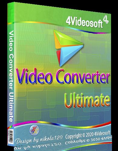 4Videosoft Video Converter Ultimate 7.0.50 RePack (& Portable) by TryRooM [2020,Multi/Ru]