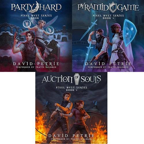 Pixel Dust Series Books 1-3 - David Petrie