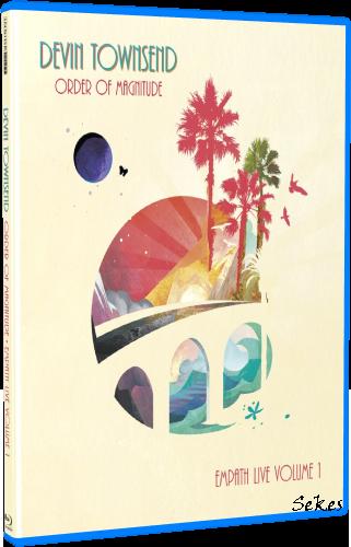 Devin Townsend - Order Of Magnitude Empath Live Volume 1 (2020, Blu-ray)