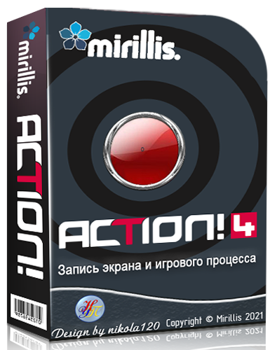 Mirillis Action! 4.15.0 RePack (& Portable) by KpoJIuK [2021,Multi/Ru]