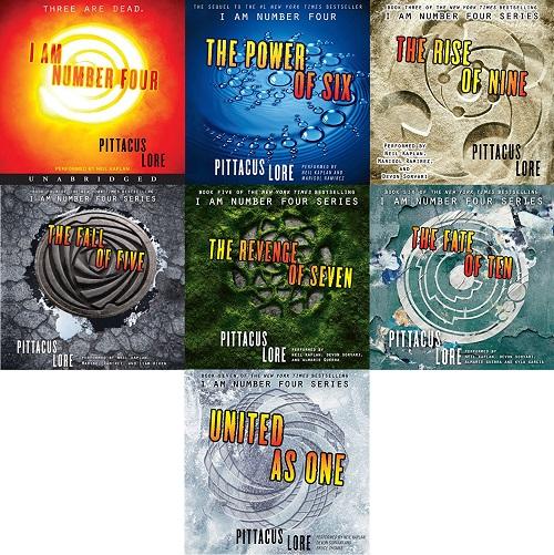 Lorien Legacies Series Book 1-7 - Pittacus Lore