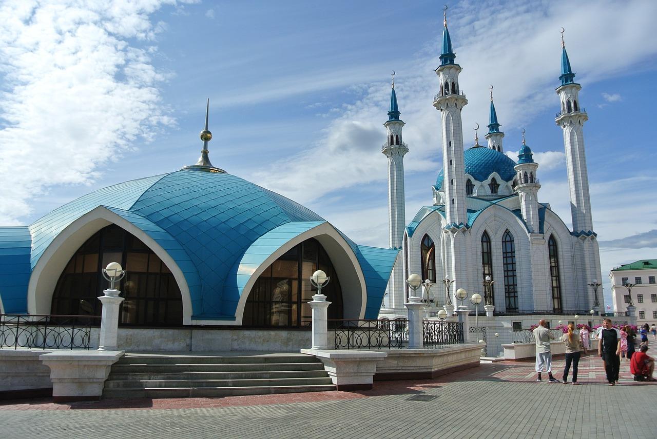 Мечеть Кул-Шариф в Казани, одна из знаковых достопримечательностей