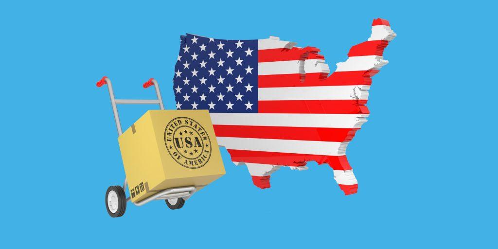 доставка товарів з Америки