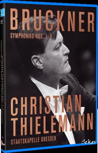 Bruckner - Symphony No 1-9, 2012-2019 (2021, 9xBlu-ray)