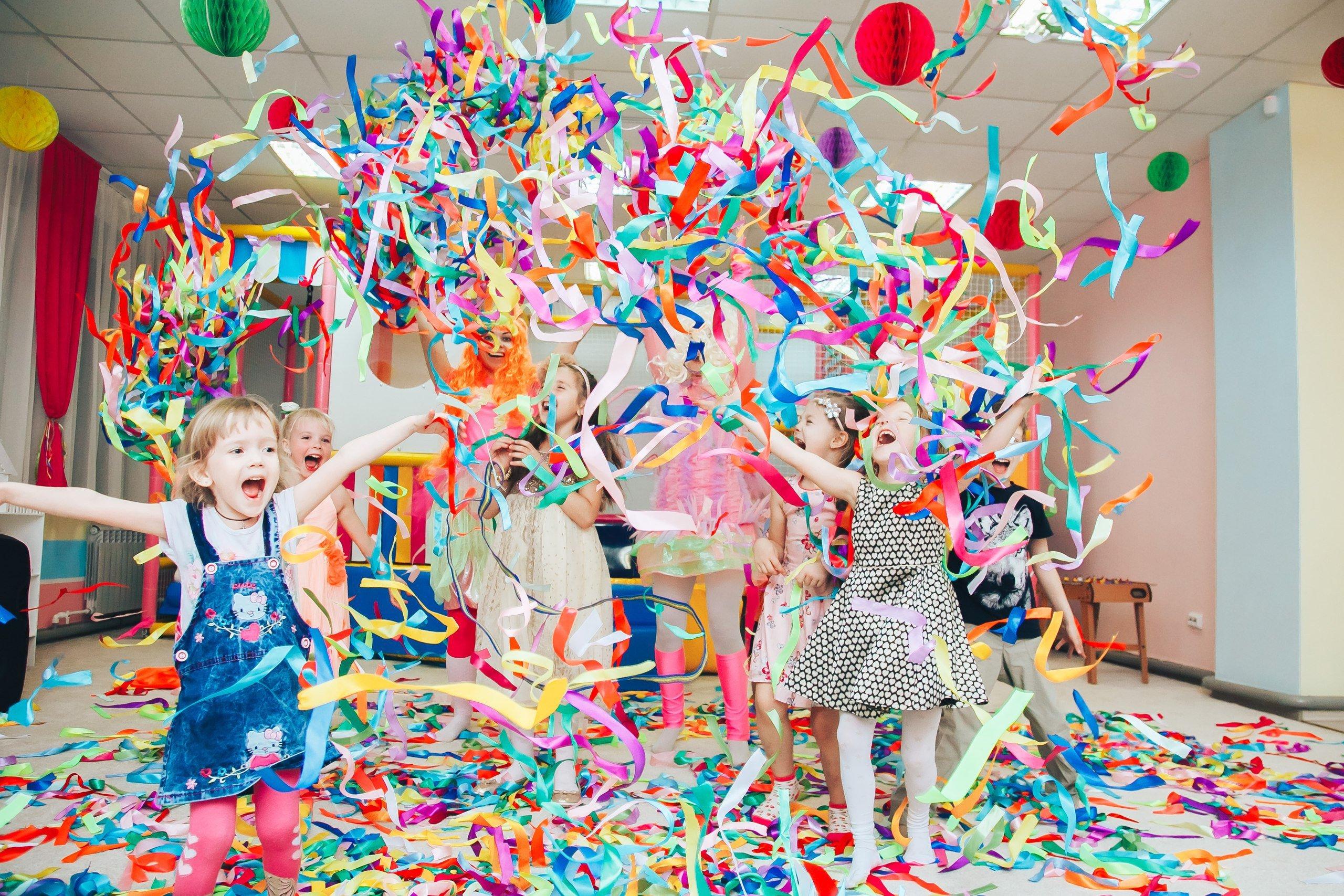 детские праздники – организация и проведение
