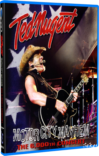 Ted Nugent - Motor City Mayhem (The 6,000th Concert) (2009, Blu-ray)