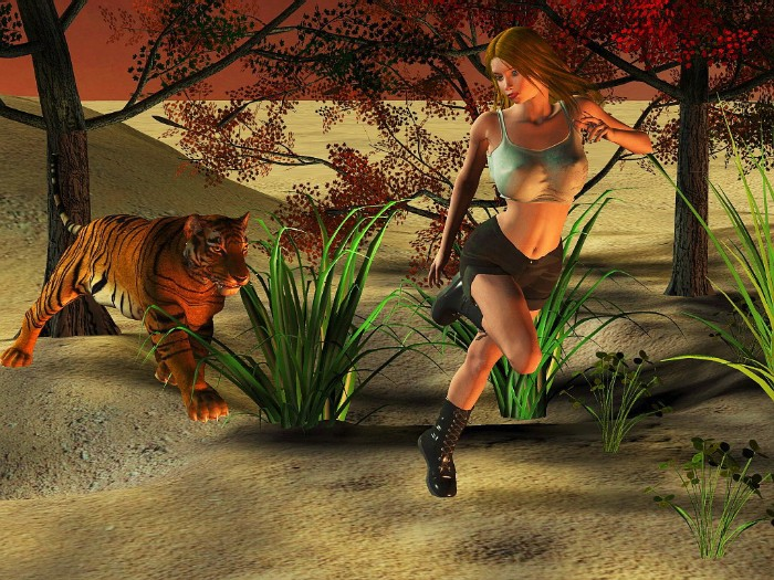 3916e5871dddfc46b9a91e3f7f881467 - Tigers - 21 Images of Animal Sex Comix / Hentai