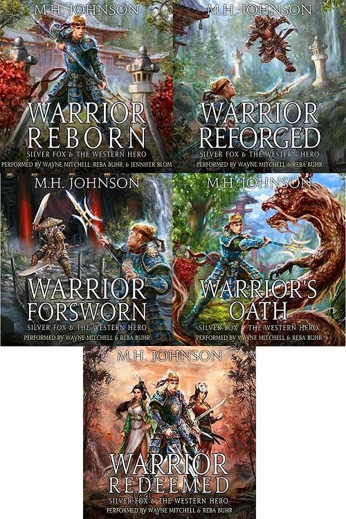 Silver Fox & The Western Hero Series Book 1-5 - M.H. Johnson