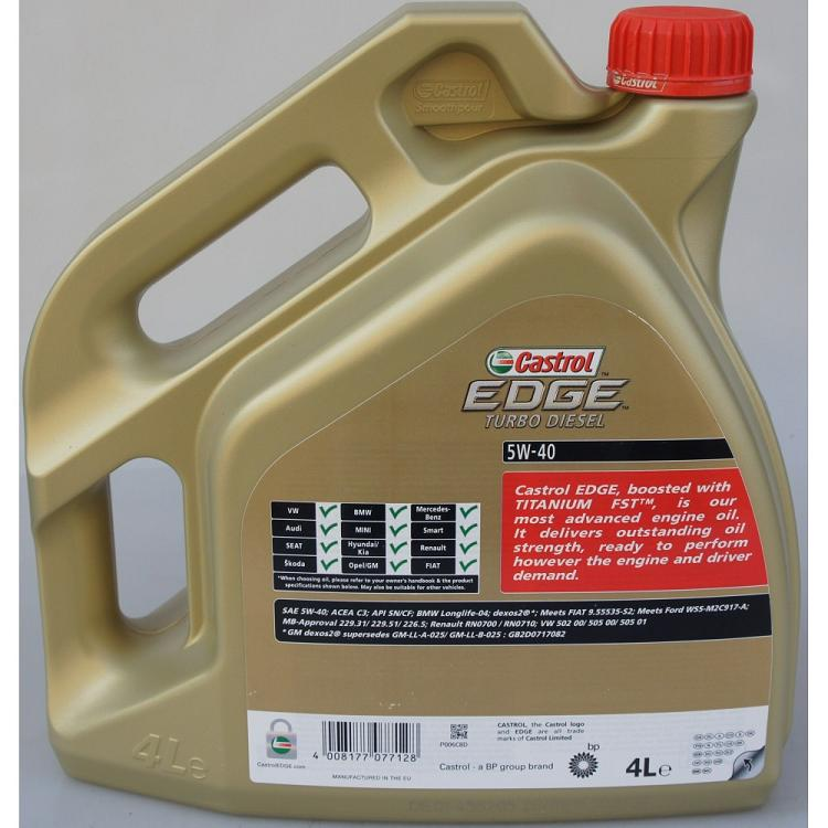 Преимущества моторного масла Castrol