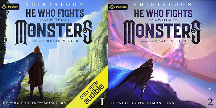 He Who Fights with Monsters Series Book 1-2 - Shirtaloon