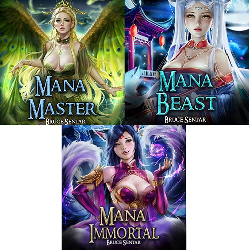 A Mages Cultivation Series Book 1-3 - Bruce Sentar