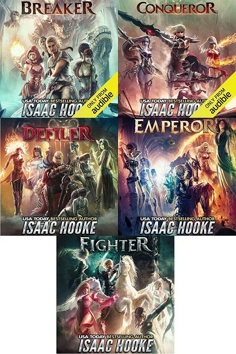 Monster Breaker Series Book 1-5 - Isaac Hooke