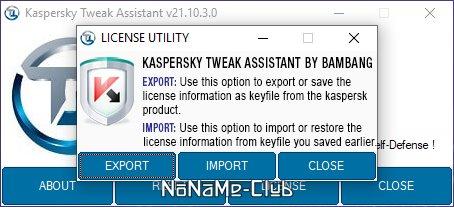 Kaspersky Tweak Assistant 21.10.3.0 [En]
