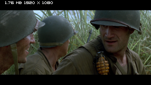 ������ ������� ����� / The Thin Red Line (1998) BDRip 1080p
