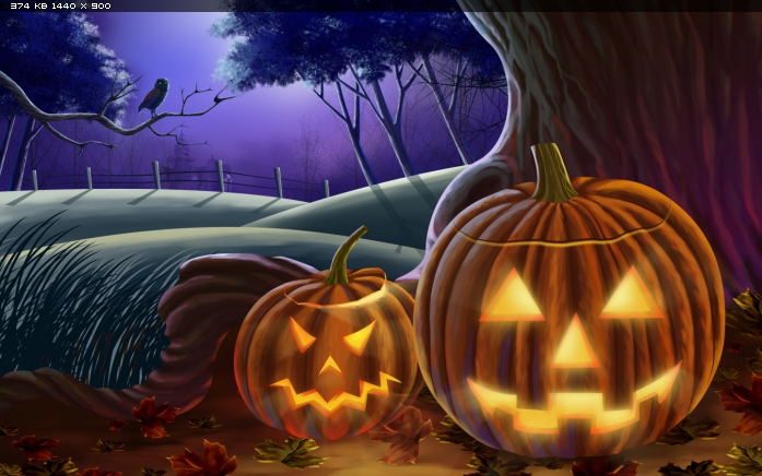 Праздники. тыквы. хэллоуин. хэллоуин, сова, тыквы скачать обои бесплатно.