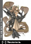 Антропоморфные драконы и рептилии ( 1446шт ) [ uncensored ] [ Jpg, gif, swf ] Hentai Art