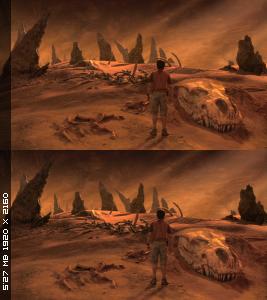 Путешествие к Центру Земли в 3Д / Journey to the Center of the Earth 3D  Вертикальная