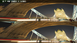 История мира в двух часах в 3Д / History of the World in Two Hours 3D Вертикальная анаморфная