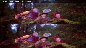 Цирк дю Солей: Большое путешествие в 3Д / Cirque du Soleil: Journey of Man 3D Вертикальная анаморфная