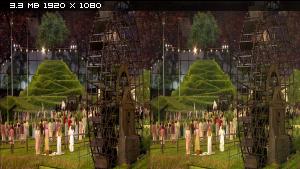 Олимпийские игры - 2012. Лондон. Церемония открытия в 3Д / Olympic Games - 2012. London. Opening Ceremony 3D Горизонтальная анаморфная