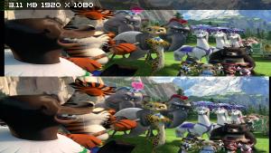 Мaдагaскар 3 в 3Д / Mаdagаscar 3: Eurоpe's Mоst Wаnted 3D (2012) BDRip 1080p / 10.1 Gb [HalfOverUnder / Вертикальная анаморфная стереопара]