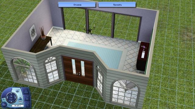 Как в симс 3 построить красивый дом поэтапно фото