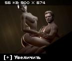 Resident Evil / Обитель Зла [Ptcen] [pic 2,453] [ENG;JAP] [JPG,PNG,GIF] Hentai ART