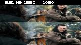 Без черных полос (На весь экран) Хоббит: Битва пяти воинств 3D / The Hobbit: The Battle of the Five Armies [Хоббит: Битва пяти воинств / The Hobbit: The Battle of the Five Armies 3D [режиссерская версия]  (Лицензия) Вертикальная анаморфная