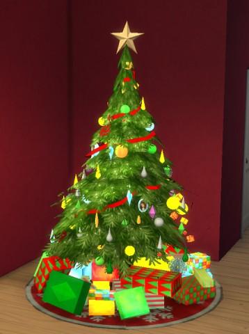 Sims 3 Christmas Tree.2 Naryadnye Elki Iz Sims 3 I Sims 2 Sims 3 Store Christmas