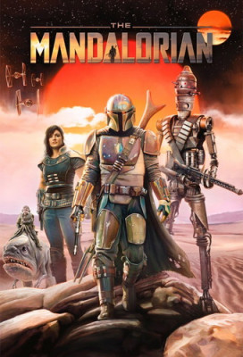 Мандалорец / The Mandalorian [Сезон: 1] (2019) WEB-DL 720p | NewStudio, Jaskier, AlexFilm, TVShows