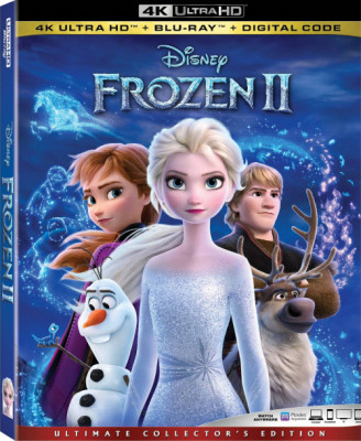 Холодное сердце 2 / Frozen II (2019) BDRip-HEVC 2160p | HDR | iTunes